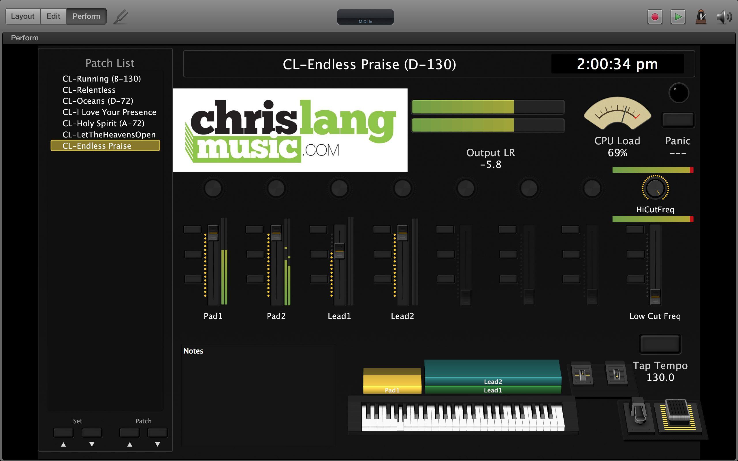 ChrisLangMusic com – Guitar / Keyboard / Audio / Training