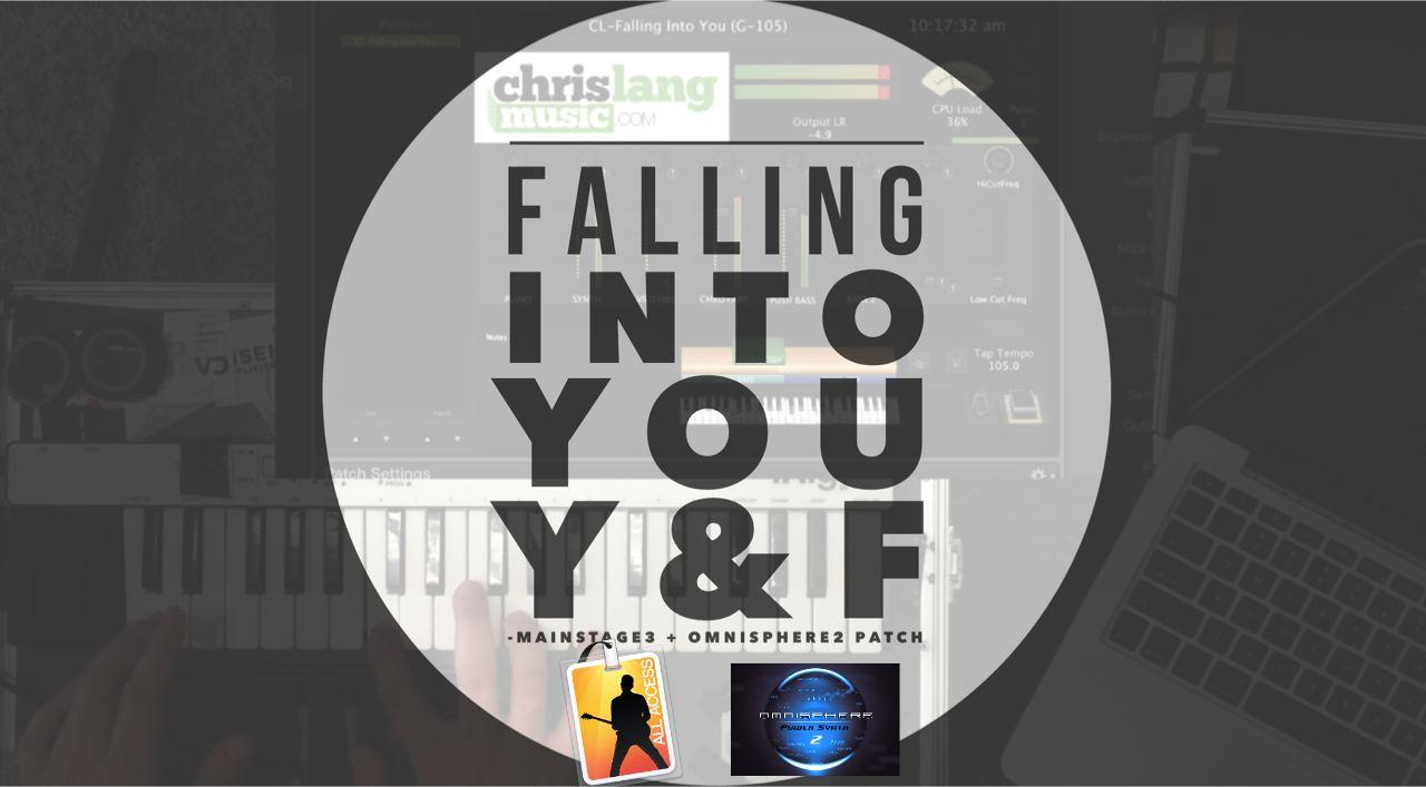 Falling Into You Patch – ChrisLangMusic com